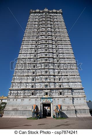 Tower clipart hindu temple #7
