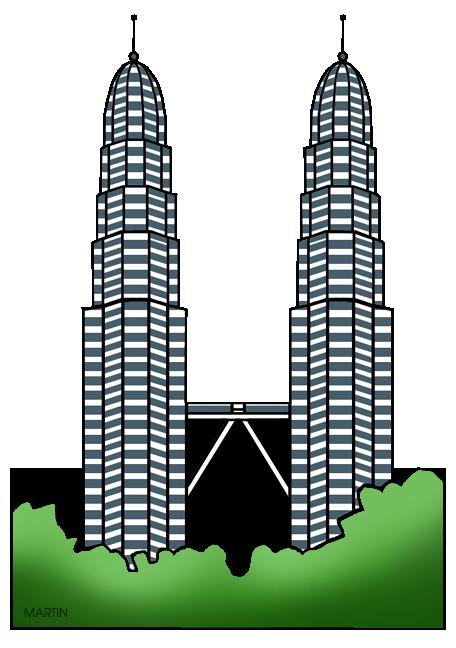Tower clipart klcc #3