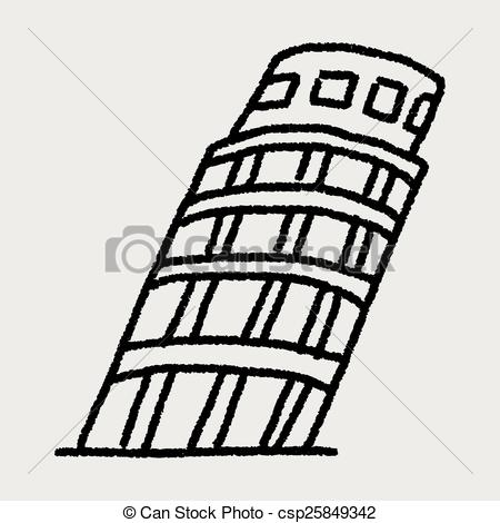 Tower clipart leaning tower #6