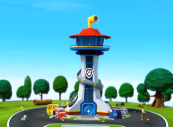 Tower clipart paw patrol #15