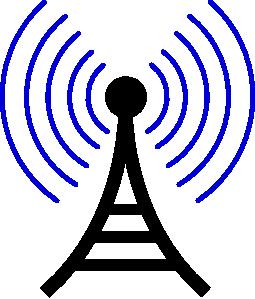Tower clipart radio communication #1
