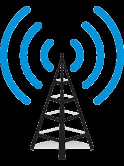 Tower clipart radio communication #7