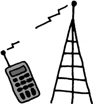 Tower clipart radio communication #3