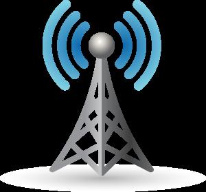 Tower clipart radio communication #6