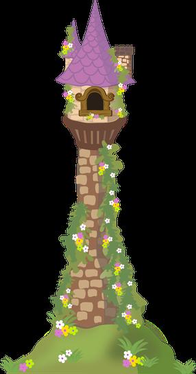 Tower clipart rapunzels #4