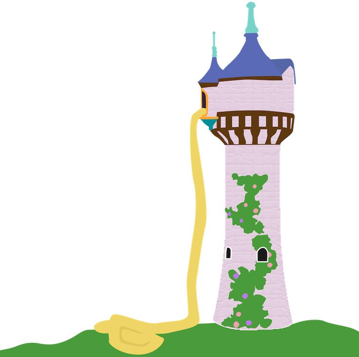 Tower clipart rapunzels #15