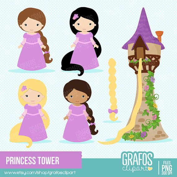 Tower clipart rapunzels #13