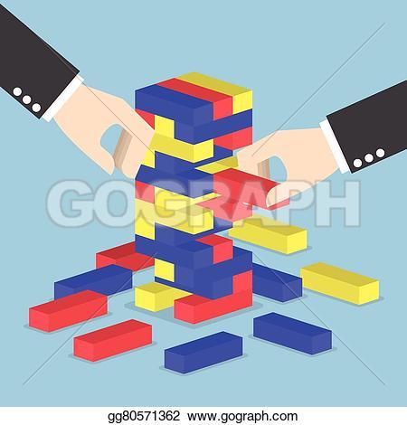 Tower clipart wooden block #2