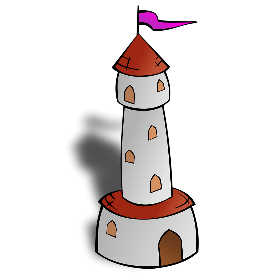 Towers clipart cartoon Stock a of Photo Free