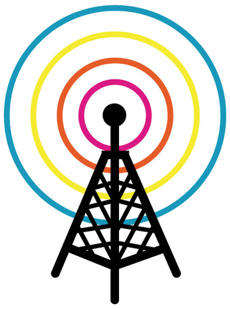 Tower clipart cell tower #10
