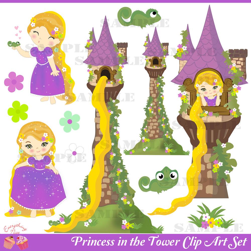 Tower clipart rapunzels #1