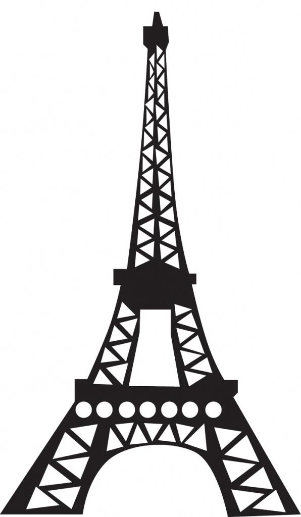 Eiffel Tower clipart simple Eiffel Gallery Best Art Drawing
