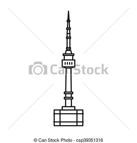 Tower clipart drawing #12