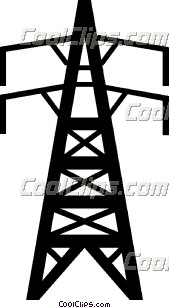 Towers clipart electric tower Resolution 169x308  Electrical Clipart
