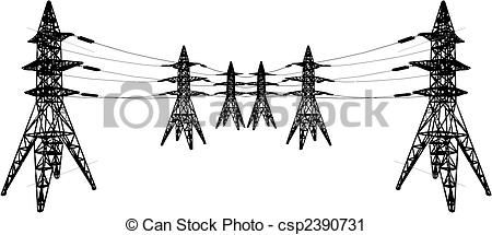 Towers clipart electric tower Tower tower  csp2390731 csp2390731