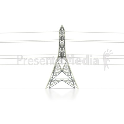 Towers clipart electric tower Side Transmission Clipart Presentation Tower