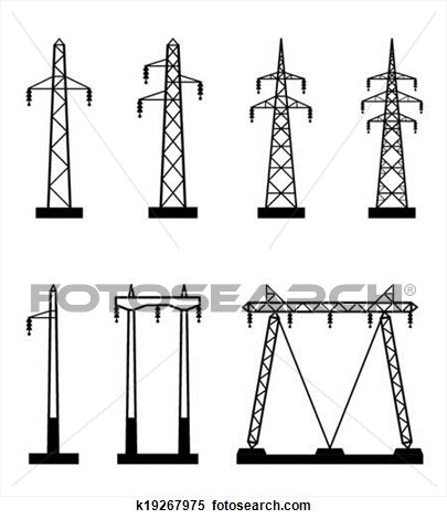 Towers clipart electric tower Electric Transmission Download Tower Electric