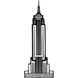 Towers clipart empire Empire Deco State cliparts emf