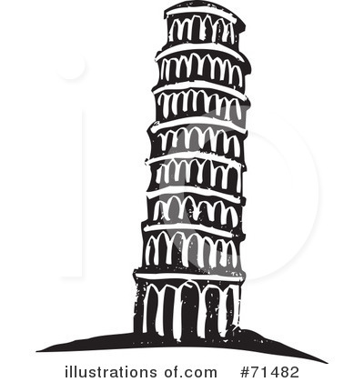 Towers clipart leaning tower Illustration Pisa by Free Of