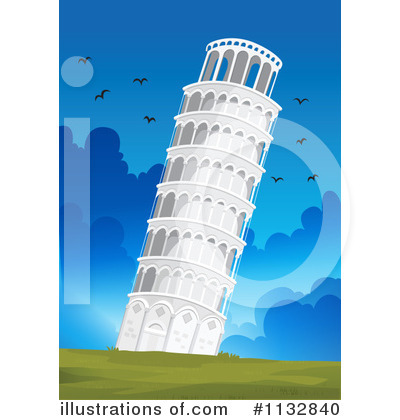 Tower clipart pisa tower #6