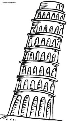Towers clipart leaning tower Search the of Bing Leaning