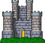 Towers clipart medieval castle Clip collection Medieval Castles clipart