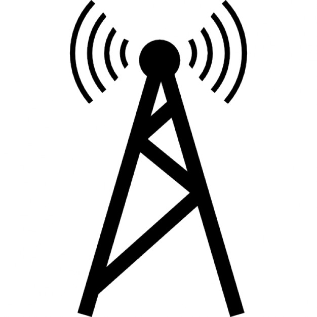 Towers clipart network tower Files Mobile Cellular PSD Download