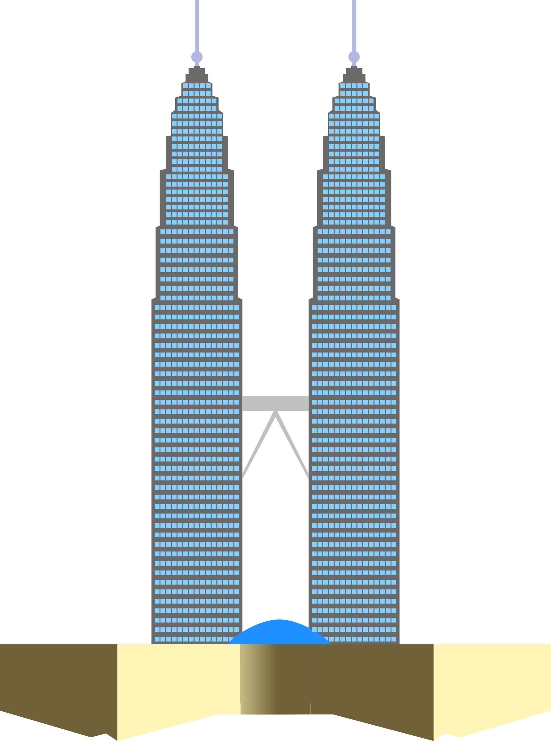 Tower clipart twin towers #2