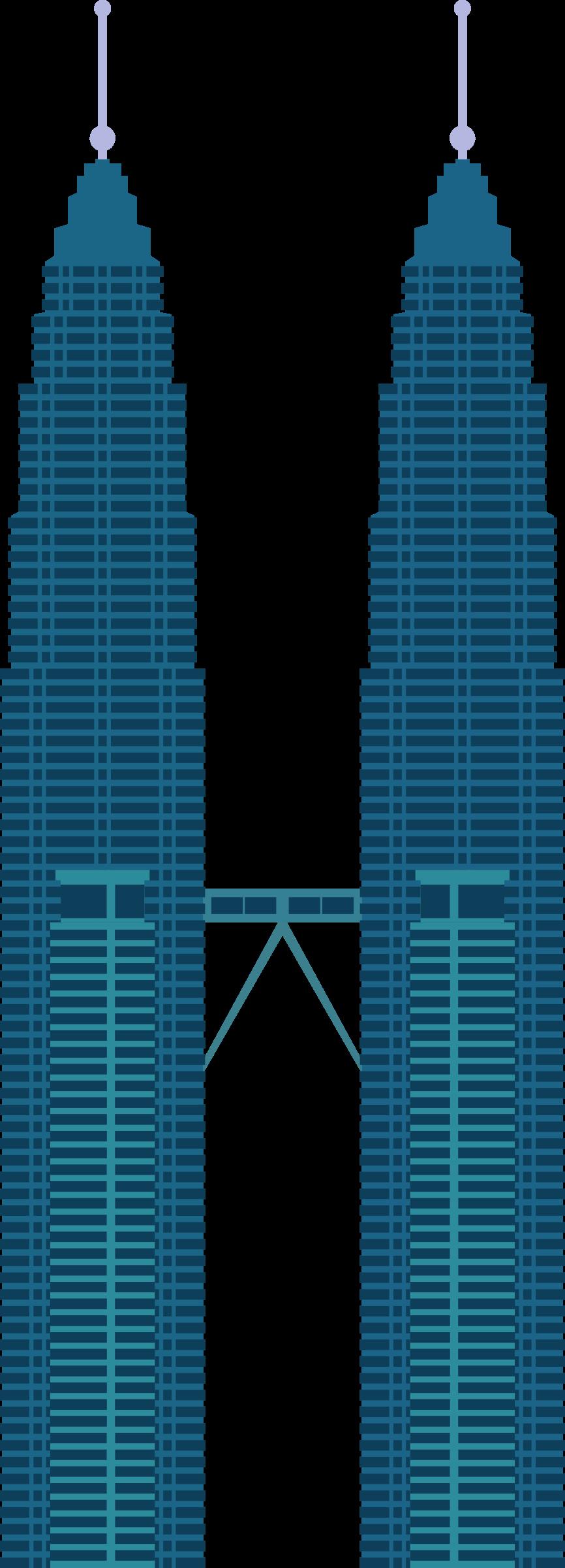 Building clipart petronas Towers Petronas Twin Twin Petronas