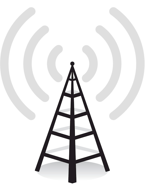 Towers clipart radio wave FM radio_tower_500x660 Gapped Waves Systems