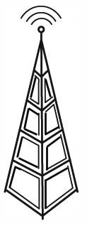 Tower clipart radio communication #8