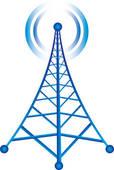 Towers clipart satellite tower Radio Tower Antenna tower Free