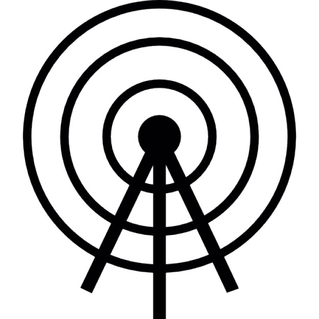 Towers clipart satellite tower Icon tower Satellite tower Free