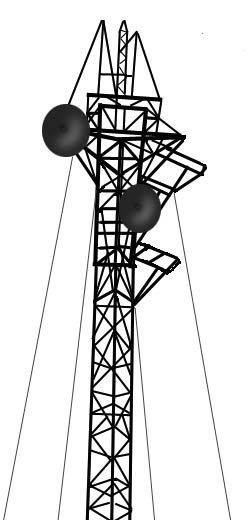 Towers clipart satellite tower Clip office Art jpg electronics