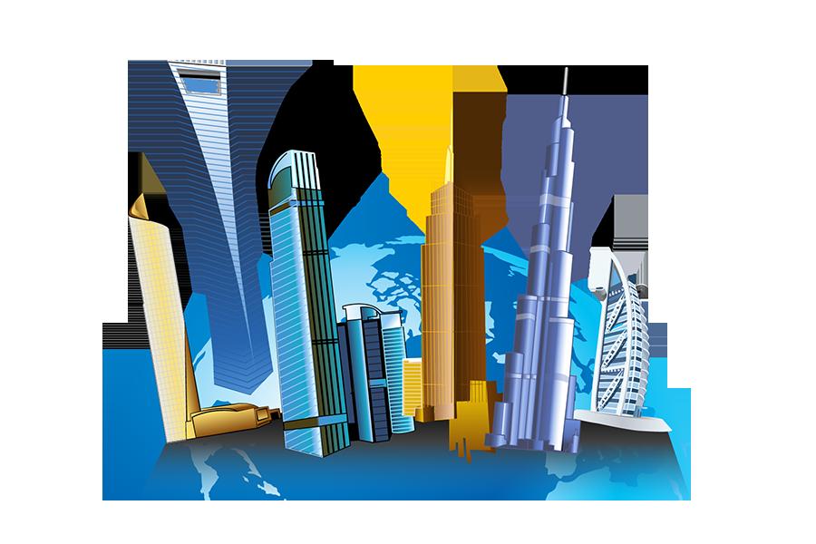 Building clipart tall building Clip – Building Art Clip