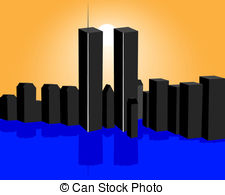 Tower clipart twin towers #13