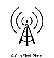 Towers clipart wireless Clipart white isolated Background royalty