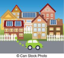 Town clipart Solar Clip clipart Vector 463
