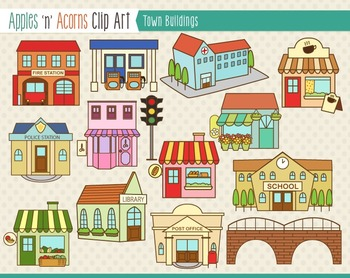 Building clipart community helper Outlines Buildings Clip Clip and
