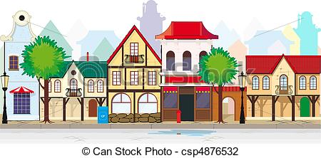 Old Town clipart rothenburg ob der tauber Town old Elegant – Art