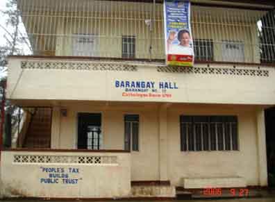 Town clipart barangay hall #12