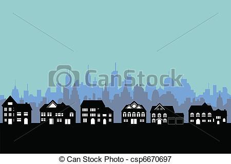 Town clipart big city #12