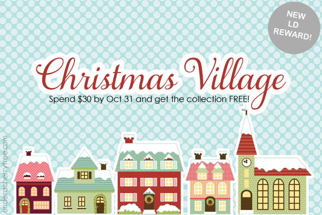Town clipart christmas town #6