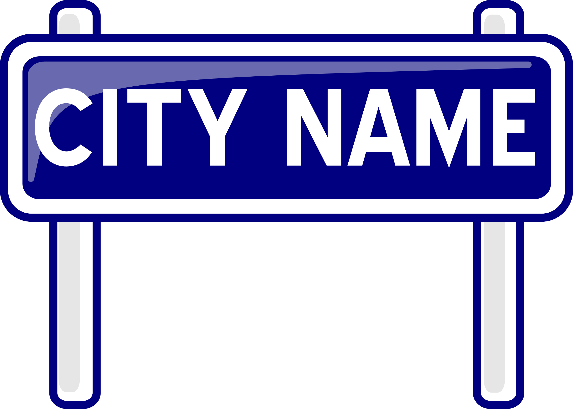 Town clipart city road #3