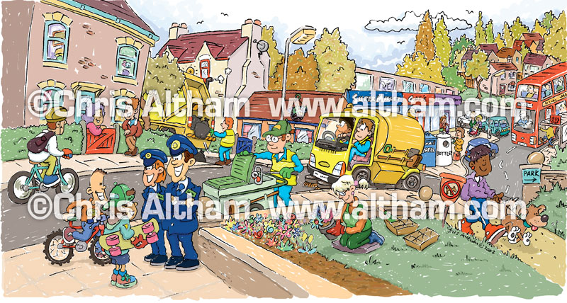 Town clipart community #8