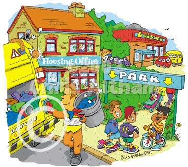 Town clipart community #7