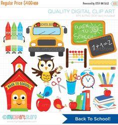 Town clipart school scene #14