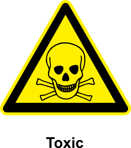 Toxic clipart Sign Toxic Clip com royalty