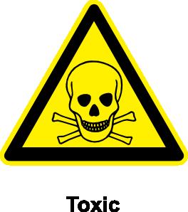 Toxic clipart Sign online Art Toxic vector
