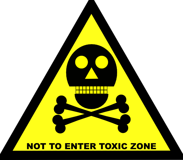 Toxic clipart Download Not Enter Clip vector